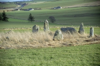 Balquhain Stone Circle (The Chapel of Garioch / Inveramsay)