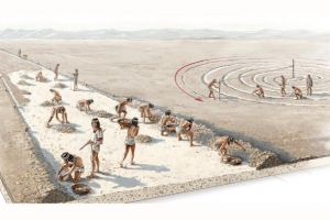 ART BY FERNANDO G. BAPTISTA/NGM STAFF  SOURCE: MARKUS REINDEL, GERMAN ARCHAEOLOGICAL INSTITUTE